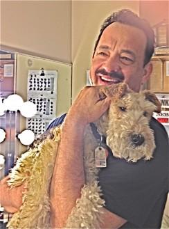 Tallulah and Mr. Tom Hanks